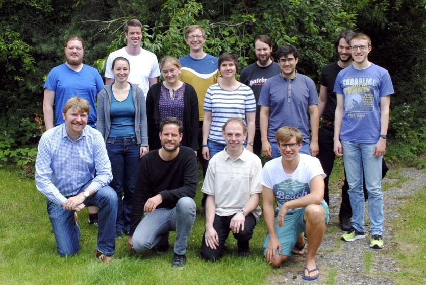 Gruppenfoto Research Group Haller